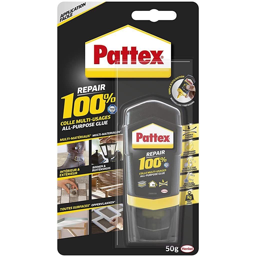Pattex Repair 100 Colle Multi Usages Colle Forte Transparente Pour Tous Types De Travaux A Linterieur Et Lexterieur Colle En 2020 Colle Liquide Multi Usage Reparation
