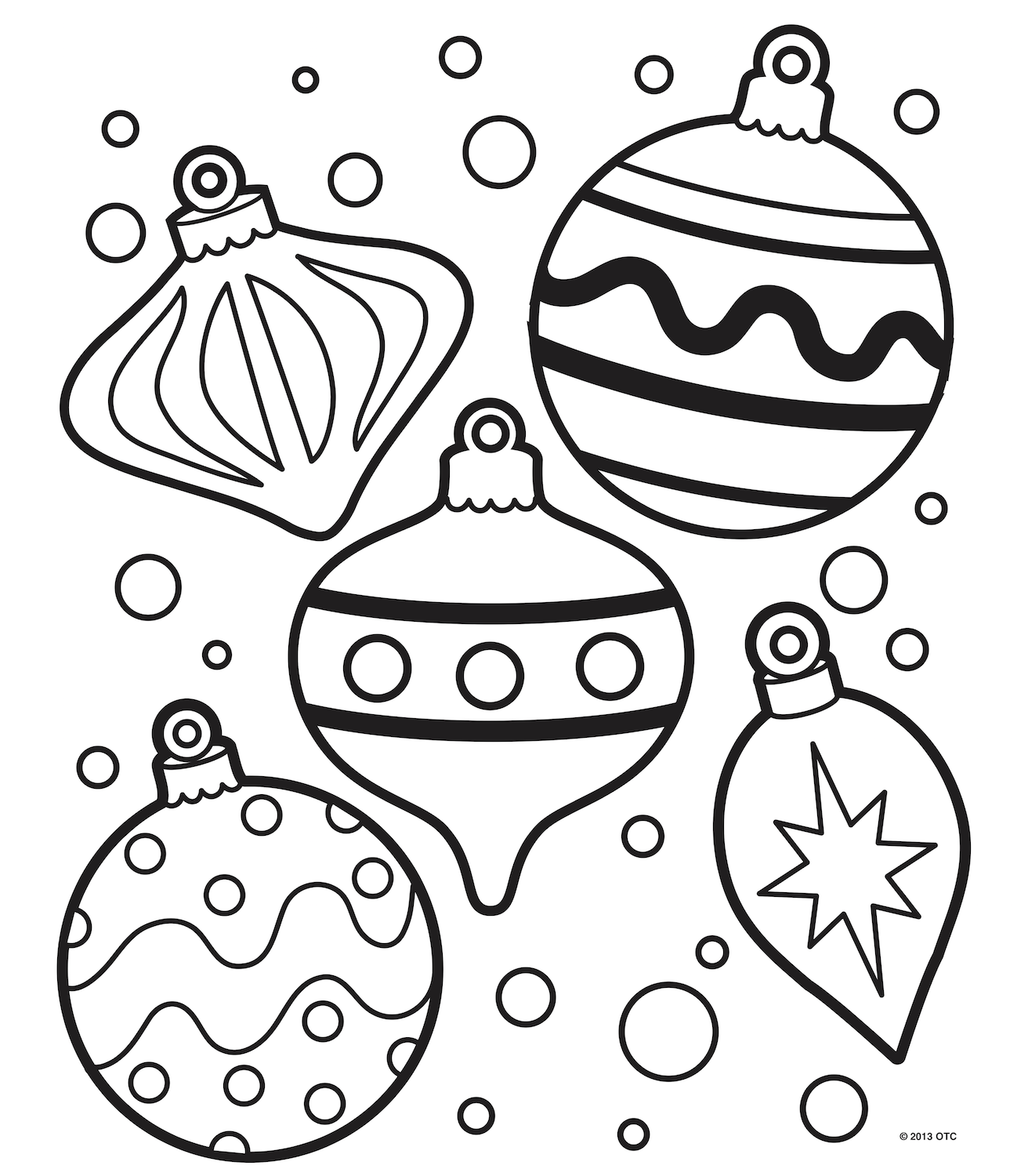 Christmas Coloring Pages Free Christmas Coloring Pages Printable Christmas Coloring Pages Christmas Ornament Coloring Page