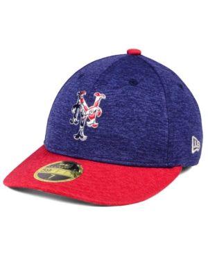 dda7050346b New Era New York Mets Low Profile Stars   Stripes 59FIFTY Cap - Navy Red 7  3 8