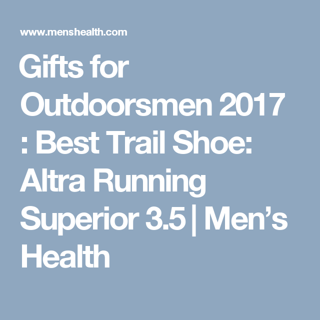 1ff0e8ce86b50 24 Gift Ideas for the Guy Who Loves the Outdoors
