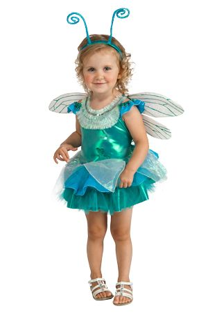 Dinky Dragonfly Blue /& Green Baby Bug Infant Halloween Costume