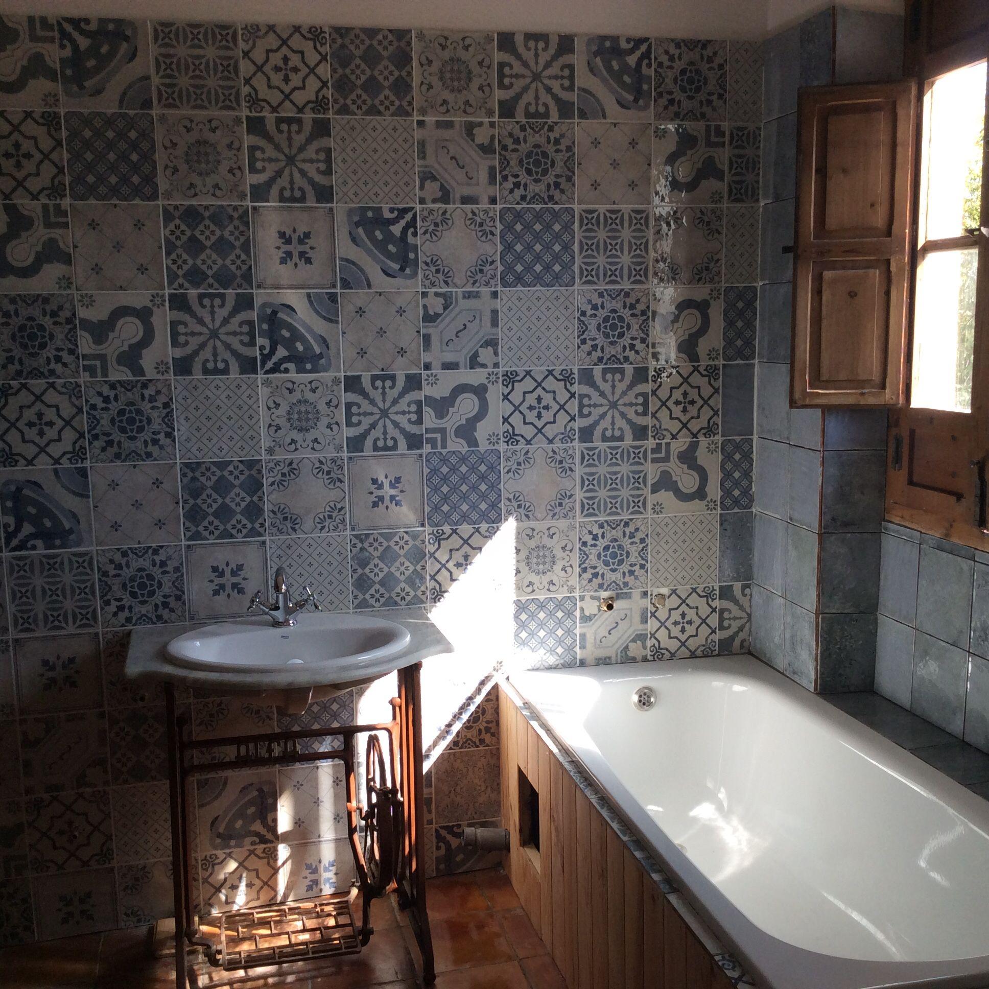 In love with #mainzu tiles | Baños Rústicos | Pinterest | Badezimmer