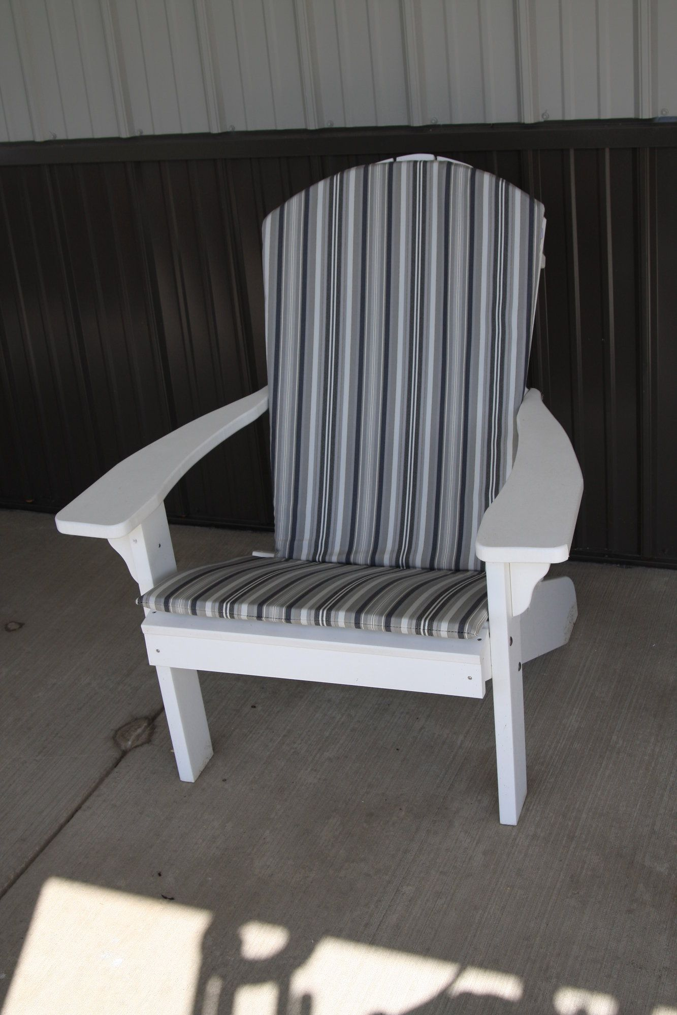 Porch Rocker 1 Inch Thick Seat & Back Cushions Outdoor