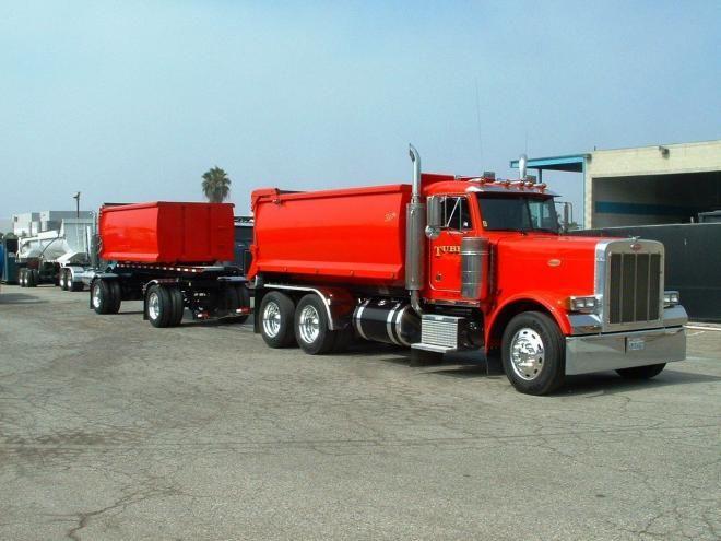 Transfer Truck Truck For Sale In California Whittier Used Peterbilt Dump Transfer Transfer Truck Dump Trucks Peterbilt Trucks