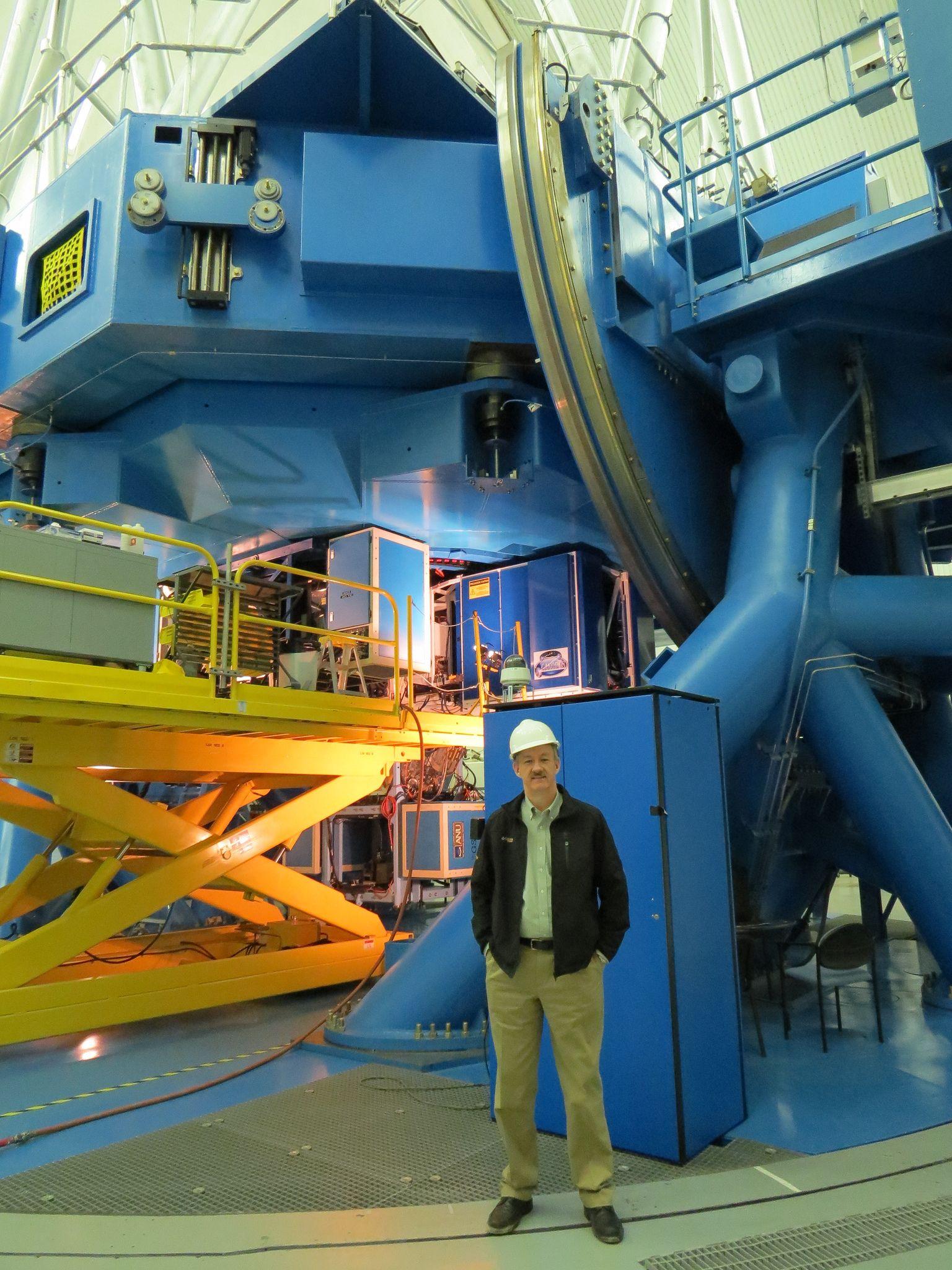 https://flic.kr/p/hnhPSn   John Bankson -  My trip to see the  Gemini Observatory on Cerro Pachón Near La Serena, Chile