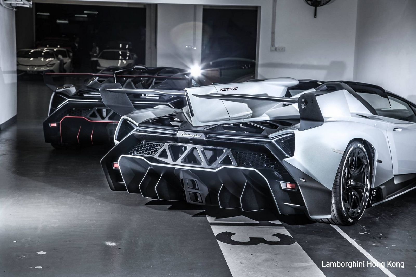 A rare lamborghini veneno roadster has been listed for sale for an asking price of