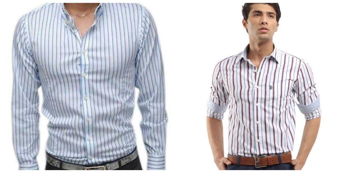 e9acc1304 Camisas para hombre 2018- camisas a rayas muy de moda