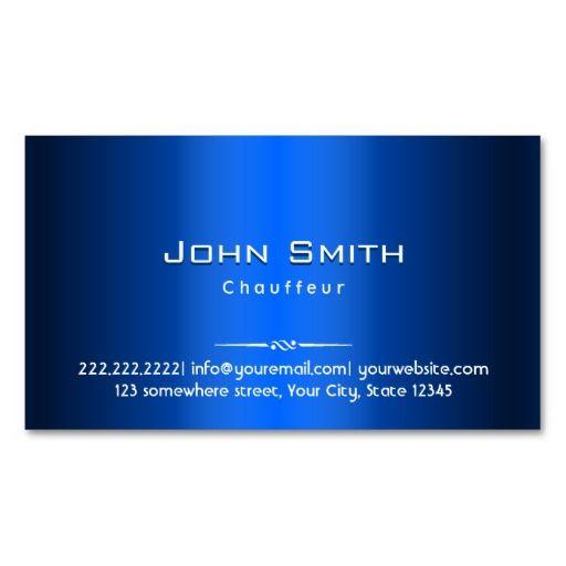 Royal blue metal chauffeur business card business cards royal royal blue metal chauffeur business card business cards royal blue and business colourmoves
