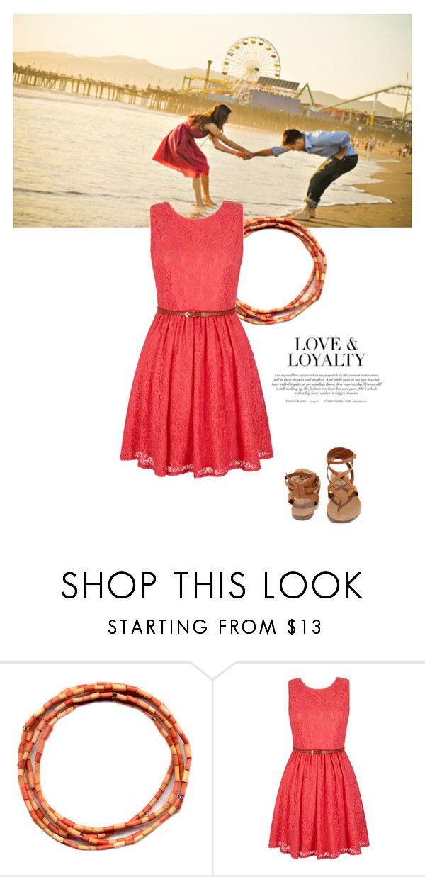 """""""Love & Loyalty"""" by sharmarie ❤ liked on Polyvore featuring Yumi and Breckelle's"""