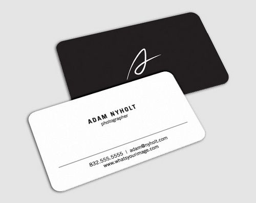Adam Business Card Photography Business Cards Business Card Inspiration Examples Of Business Cards