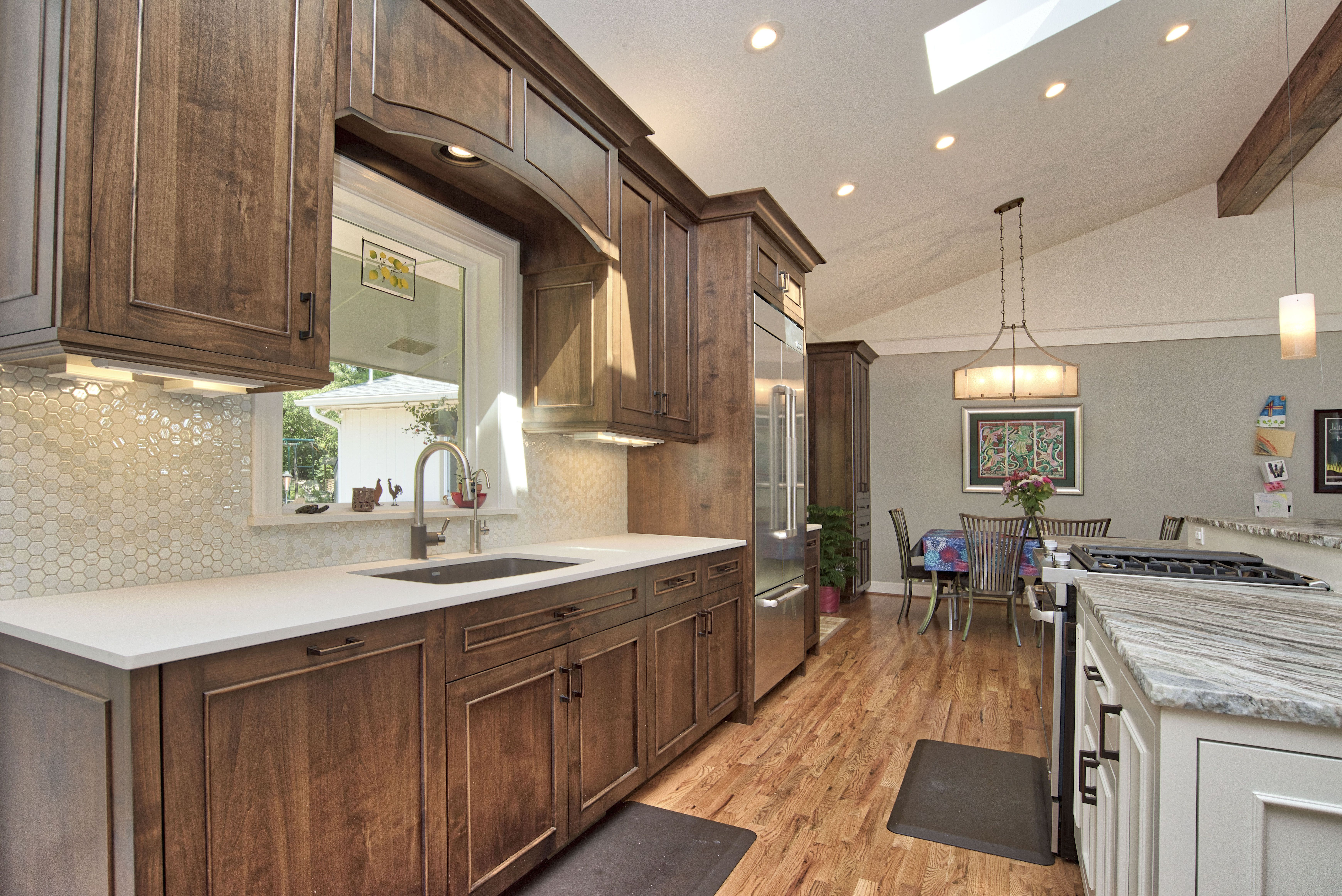 Luxury Custom Kitchen Woodwork Cabinets Island Bar Dream Home House