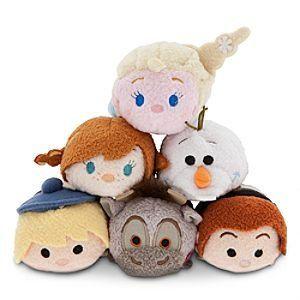 Disney Tsum Tsum Frozen Set of 6 Charecters- Sven, Kristoff, Prince Hans, Anna, Olaf, and Elsa Disney http://www.amazon.com/dp/B00U7NQG1W/ref=cm_sw_r_pi_dp_MJIEvb0MBB6Z3
