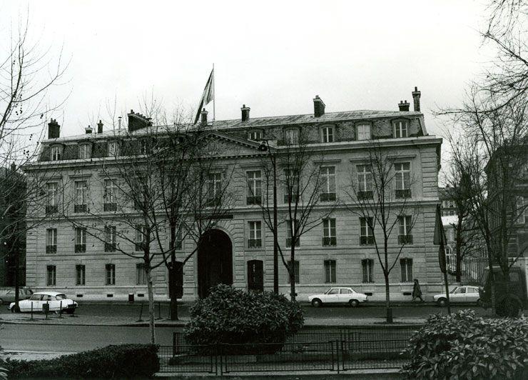 Les bâtiments du ministère des finances sur le quai Branly
