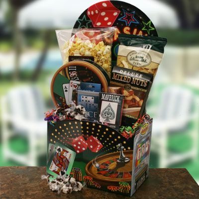 Dads Bluff Fathers Day Poker Basket @ Design It Yourself Gift ...