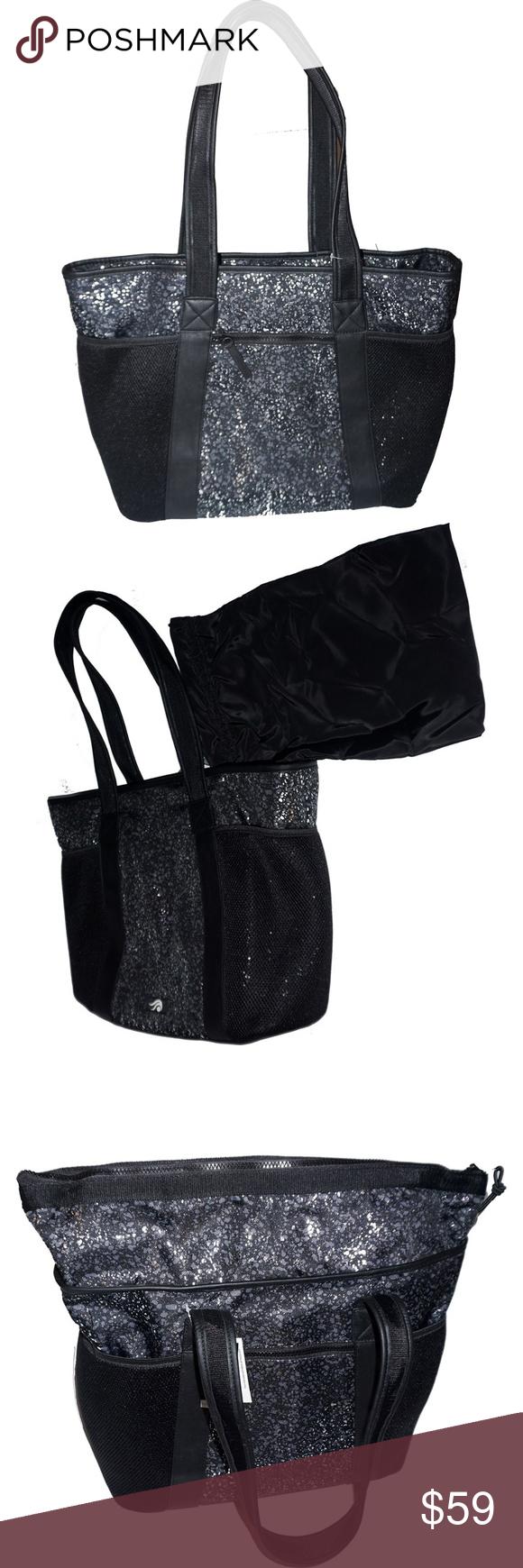 e366c0836e Ideology Active Tote Handbag Black Splatter Ideology Active Tote Handbag  Black Splatter Ideology active tote Nylon