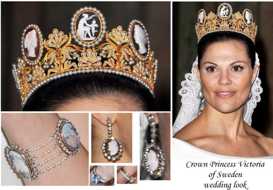 Crown Princess Victoria of Sweeden on her wedding day!