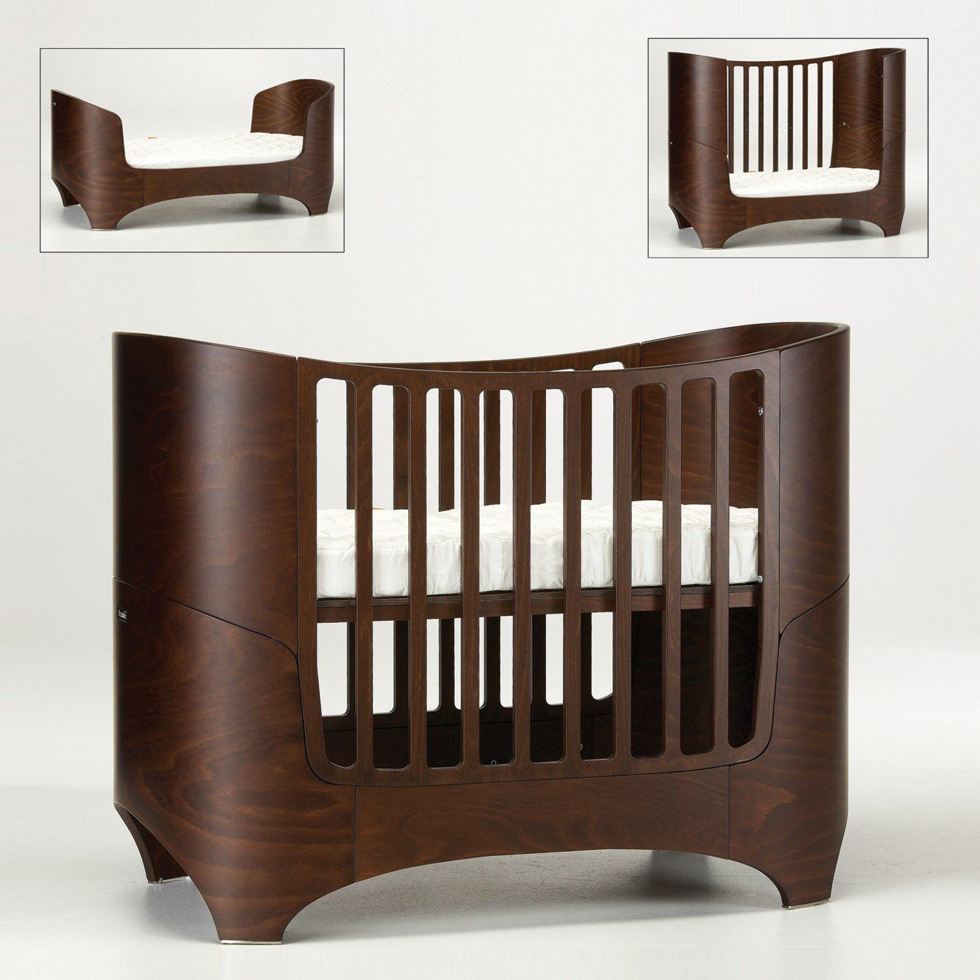 Add Some Modern Style To Your Nursery With This Unique Crib Which