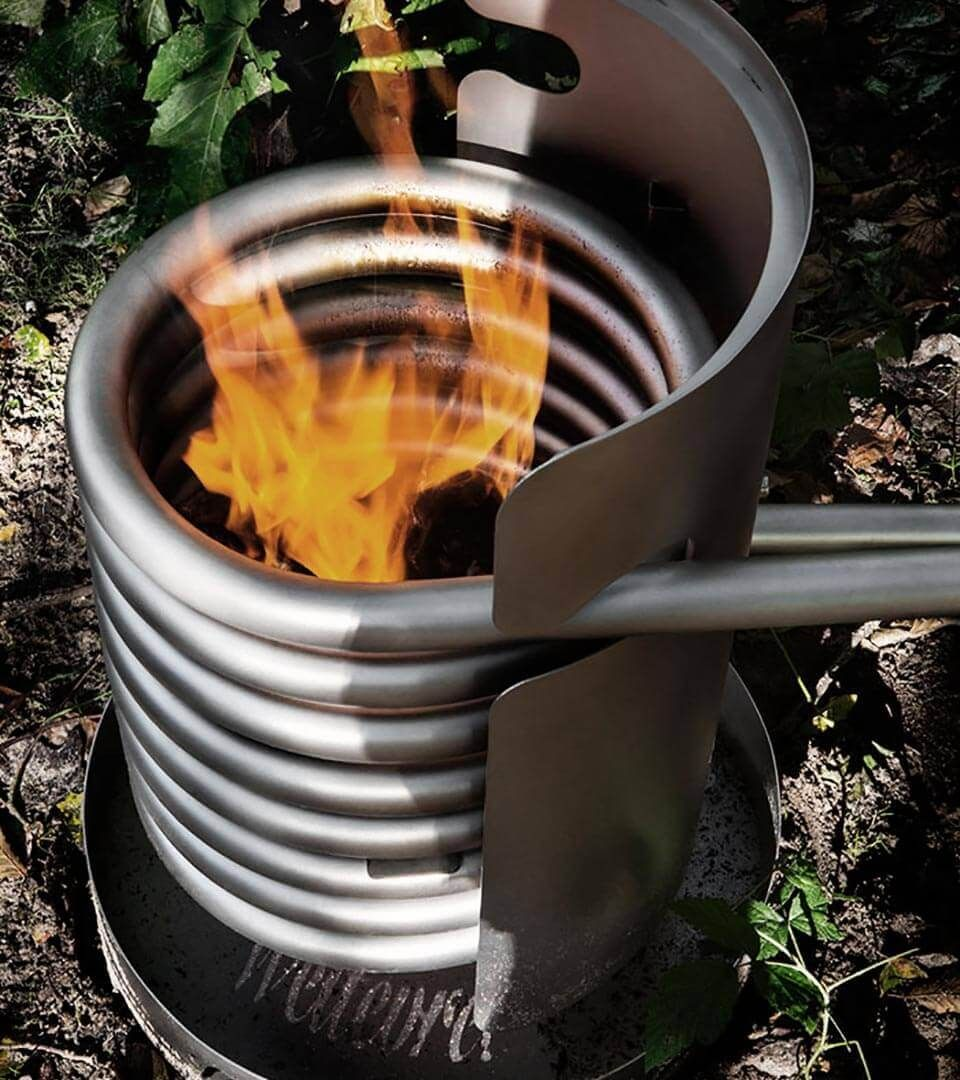 Dutchtub Wood Wood stove water heater, Diy hot tub