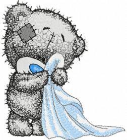 Teddy Bear Bathroom Machine Embroidery Design Www Embroideres