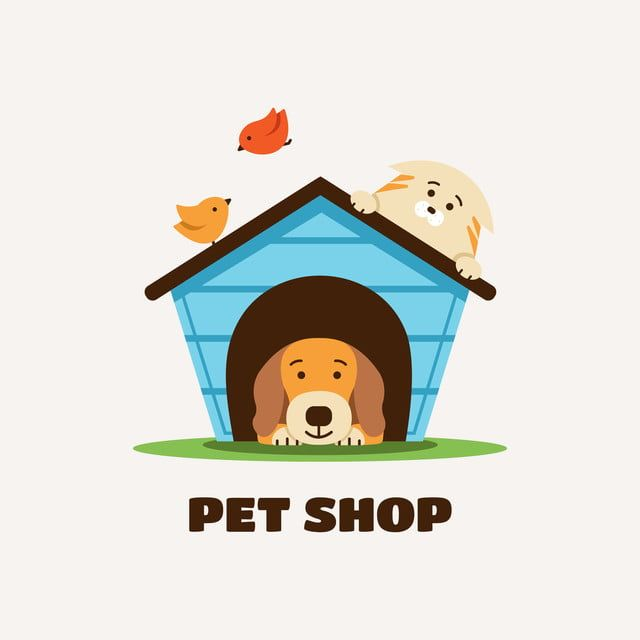 Logo For Pet Shop And Veterinary Clinic, Logo, Design, Icon PNG and Vector with Transparent Background for Free Download