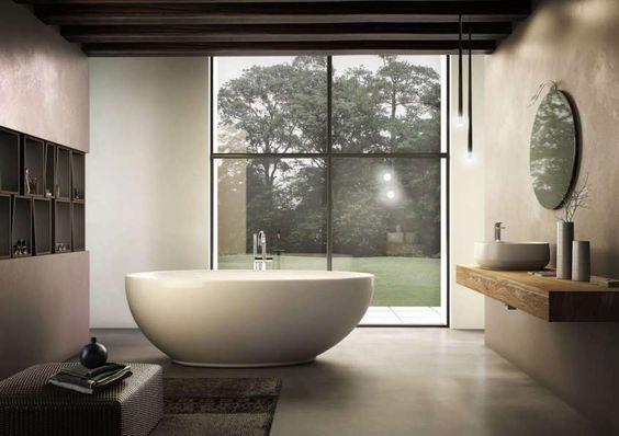 Vasca Bagno Freestanding : Vasche da bagno freestanding vetrate pinterest bagno