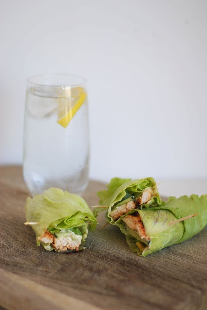 clean & lean lettuce wraps