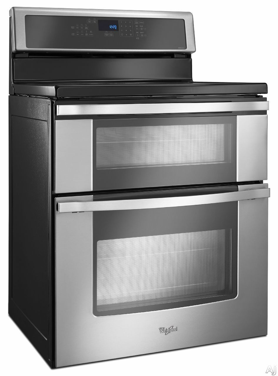Whirlpool Wgi925c0bs 30 Freestanding Electric Range Double Oven