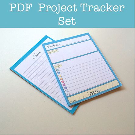 Make Your Own Tracker Get Organized with a Handmade Task List - project task list template