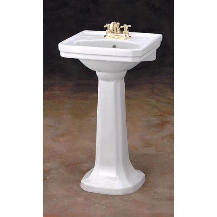 Small Mayfair Pedestal Sink Lavatory Small Pedestal Sink