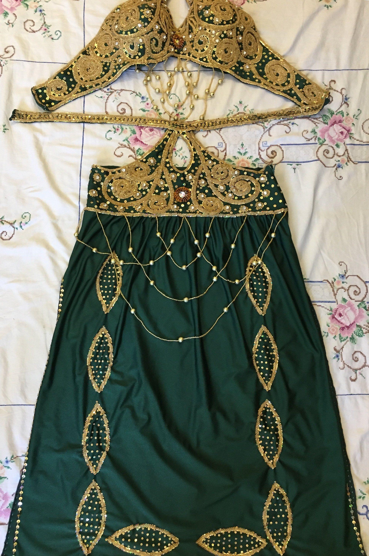 Professional Egyptian Handmade belly dance saidi dress made any color