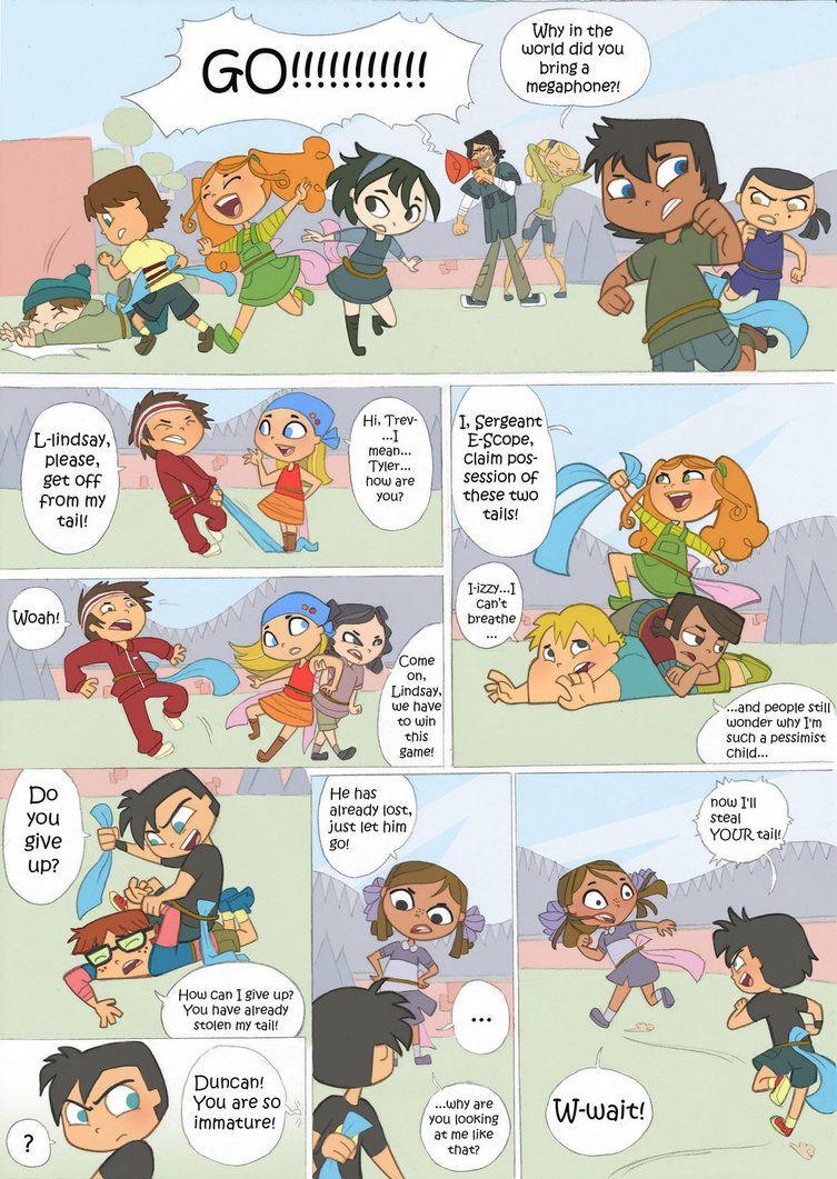 Total Drama Kids Comic Pag 6 By Kikaigaku Deviantart Com On Deviantart