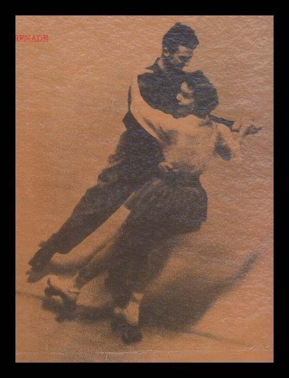 Roller Skating Music organ Music, Vintage Vinyl Record Album