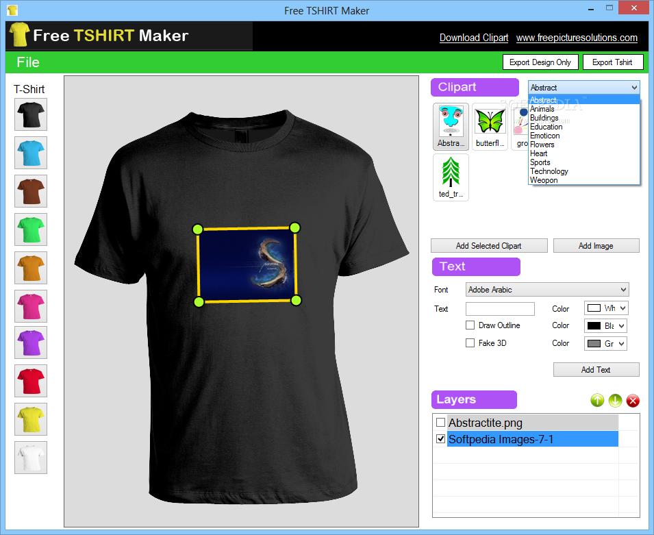 shirts design software