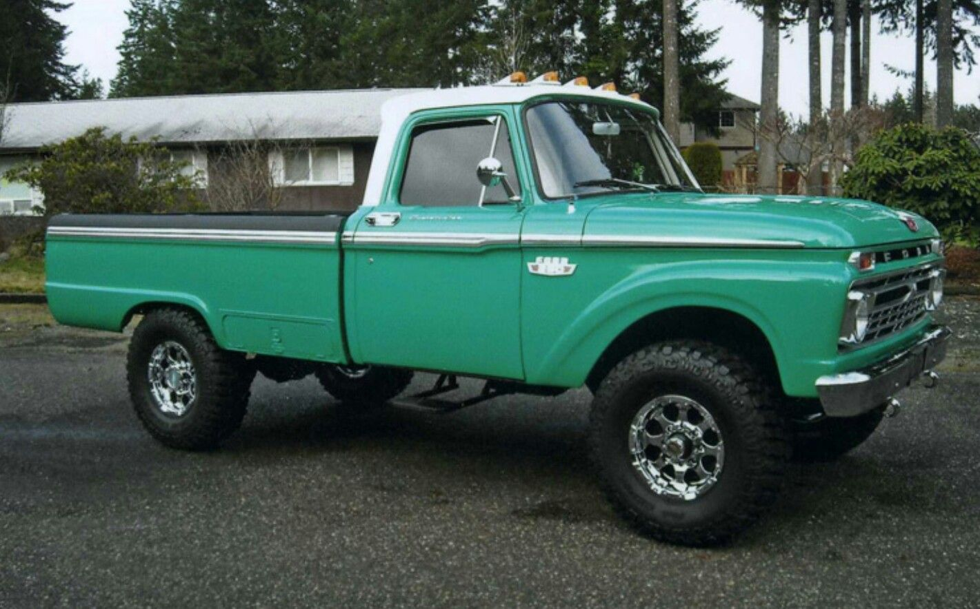 66 Ford F 250 4x4 With Images Ford Trucks Classic Ford Trucks