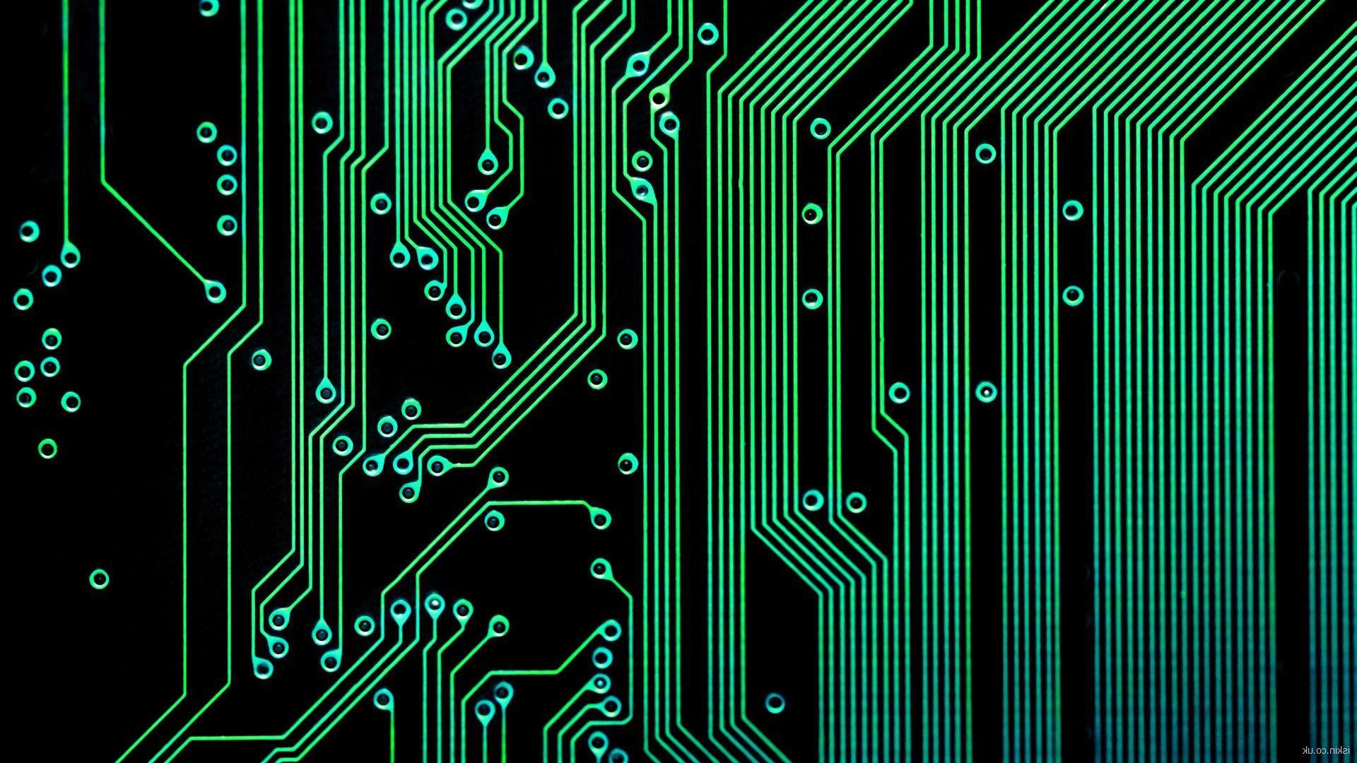 electronic circuit wallpaper [ 1920 x 1080 Pixel ]
