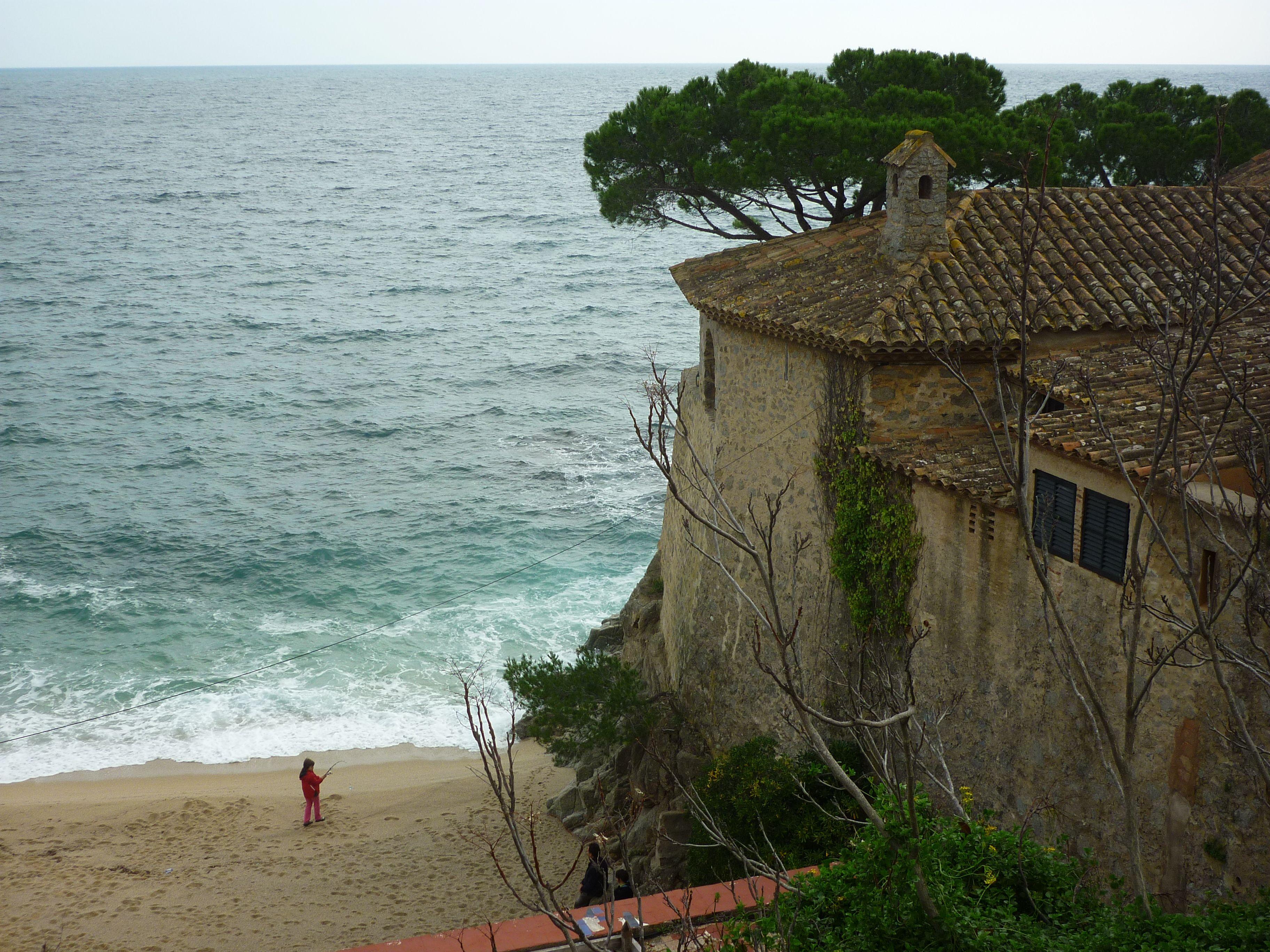 Calella de Palafrugell, al Baix Empordà. Costa Brava