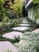 Photo of 02 beautiful side yard garden path design ideas – Homekover