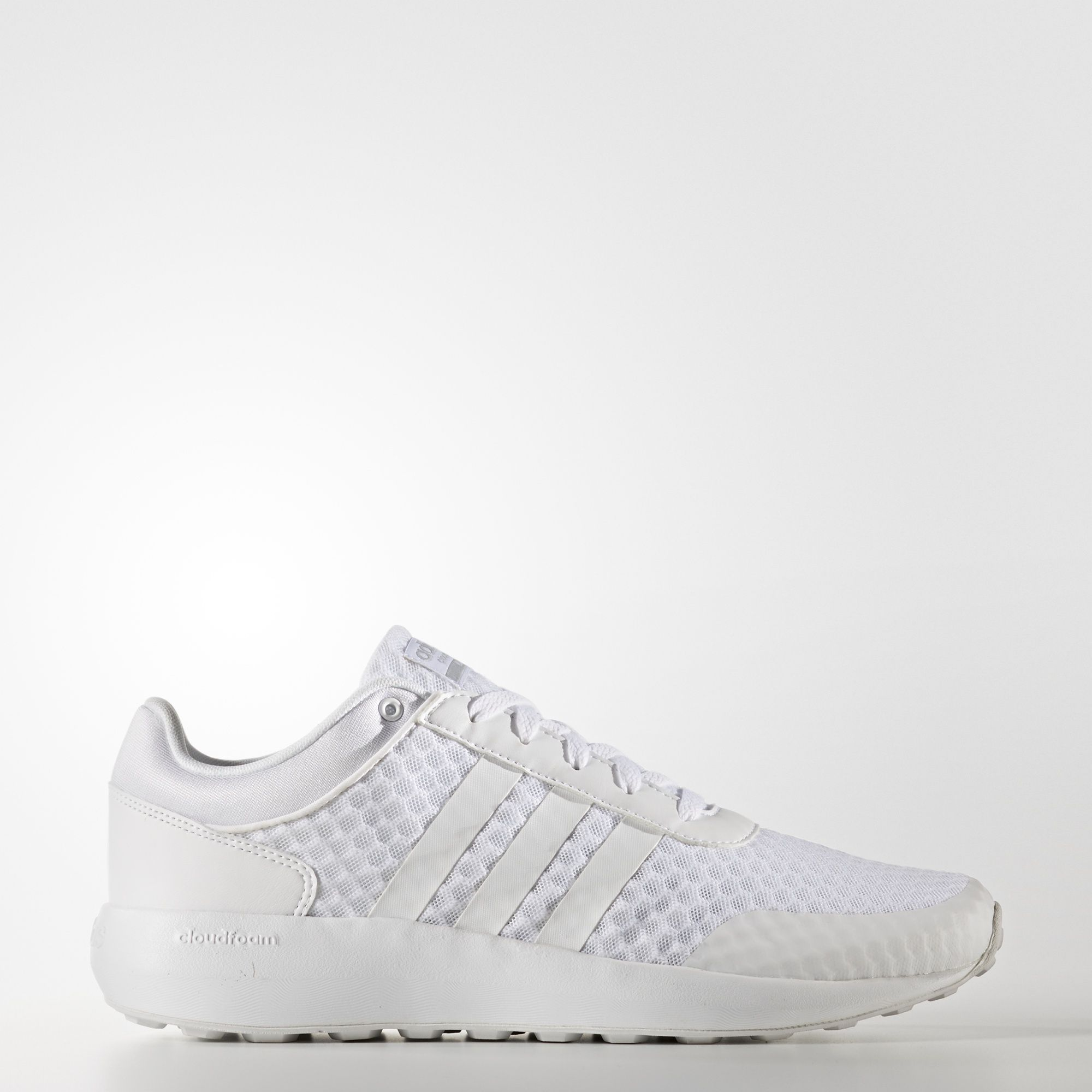 adidas Cloudfoam Race Shoes - White