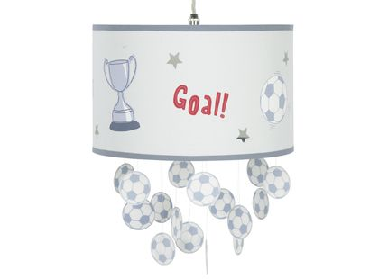 Football Mobile Ceiling Shade For Children Who Are Football Mad