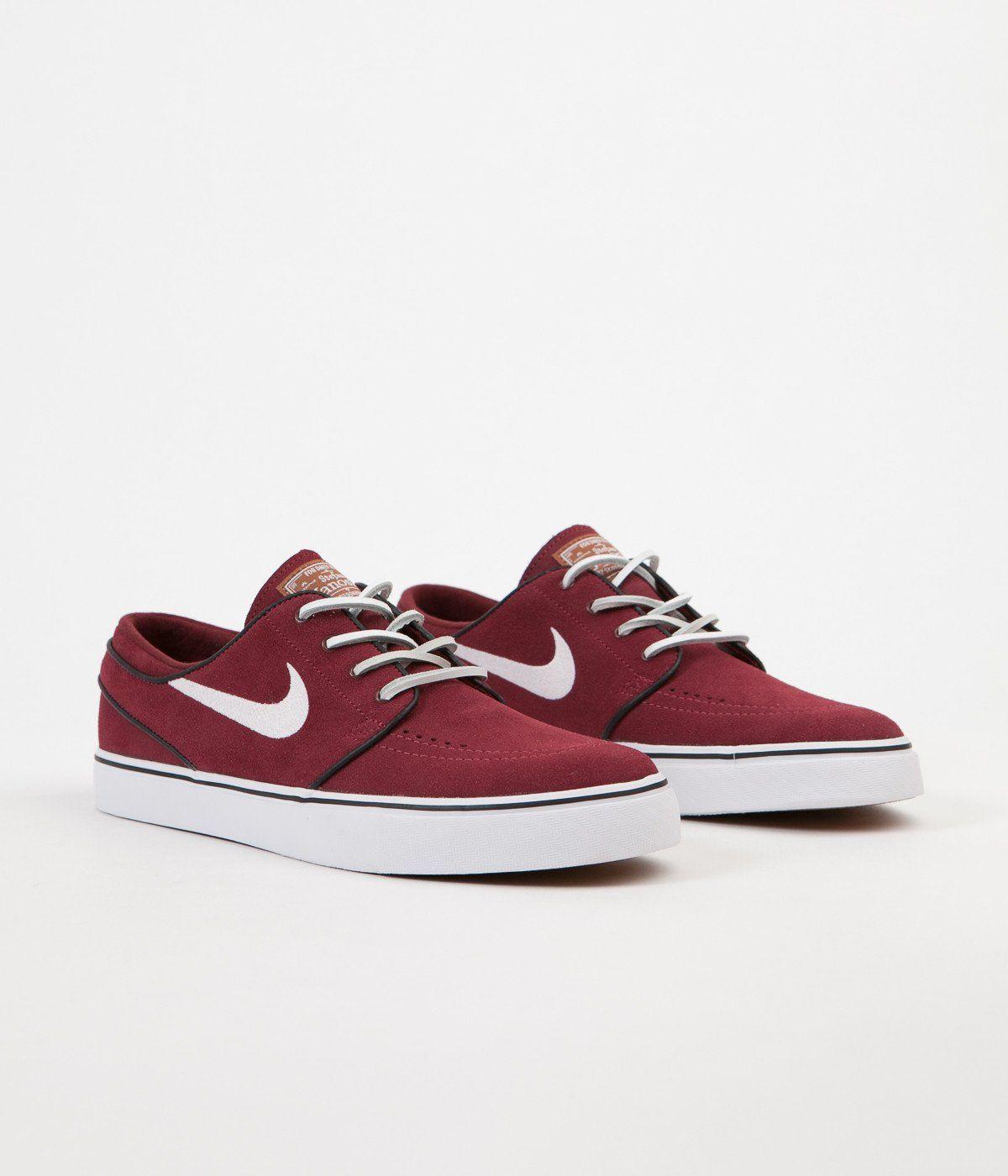 Nike SB Stefan Janoski OG Chaussures Rouge Earth / Blanc Noir Gum
