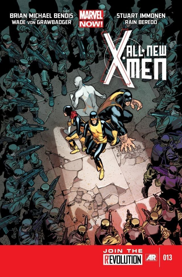 All New X Men 13 The All New X Men Are Confronted By The Uncanny