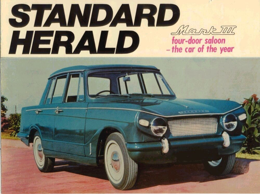 Standard Herald From India Sales Brochure With Images Herald