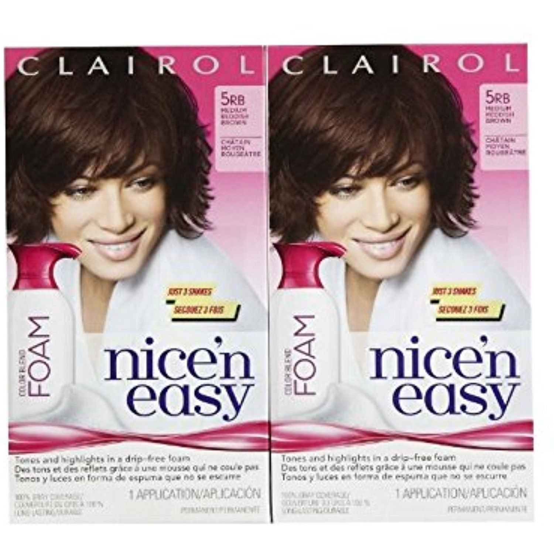 Clairol Nice un Easy Color Blend Foam Hair Color RB Medium