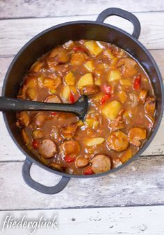 Photo of Recipe for sausage goulash, leftovers for sausages, leftovers for grilling