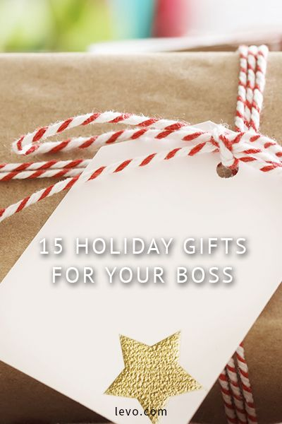Holiday Gift Guides for your boss / mentor under $50! - 15 Holiday Gifts For Your Boss Gifts & Giveaways Pinterest