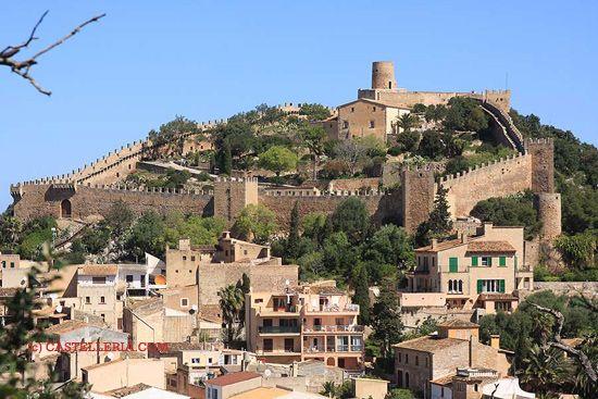 Castell de Capdepera (North East Coast) 14th century castle built on the ruin...