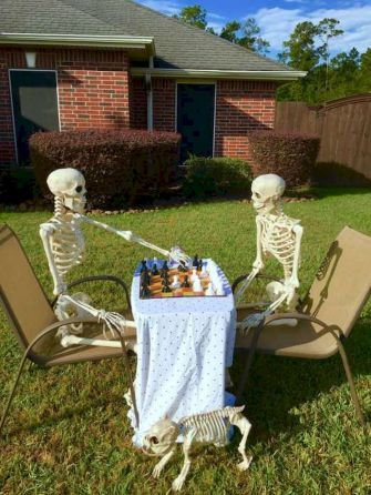 35 Best DIY Halloween Outdoor Decorations for 2018 (25 in 2018