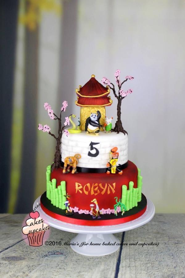 Kung Fu Panda Cake Cake By Marias My Cakes Pinterest Kung