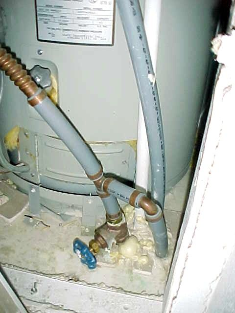 Install Shut Off Valve Under Sink Replace Faucet Mobile Home