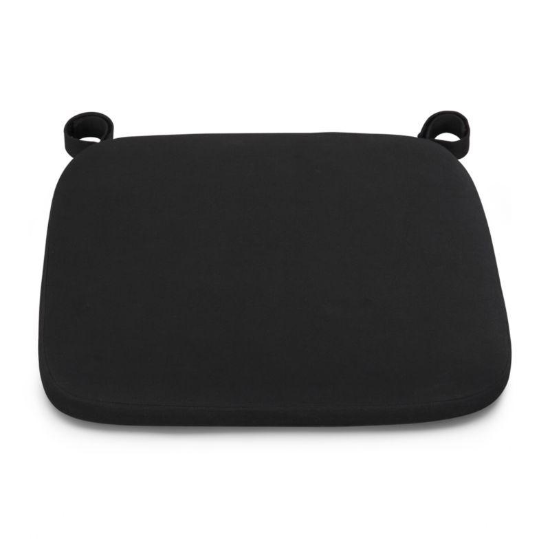 Delta Black Chair Bar Stool Cushion